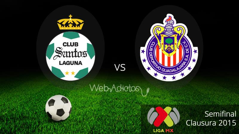Santos vs Chivas, Semifinal del Clausura 2015 - Santos-vs-Chivas-Semifinal-Liguilla-Clausura-2015