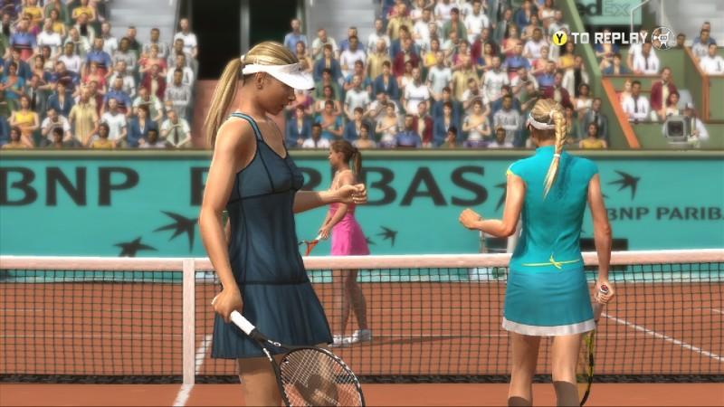 5 Videojuegos deportivos que incluían mujeres antes que FIFA 16 - TopSpin3-800x450
