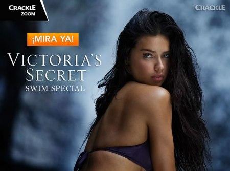 No te pierdas el Victoria's Secret Swim Special en Crackle