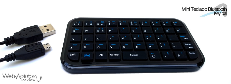 Acteck Mini Teclado Key pal Bluetooth 3 Mini teclado Bluetooth Key pal, perfecto para el smartphone y tablet [Reseña]