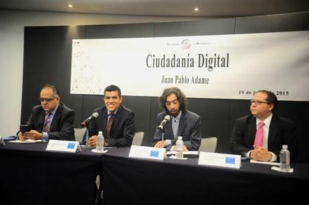 Presentan el libro Ciudadanía Digital: ¿Oportunidad o Amenaza?