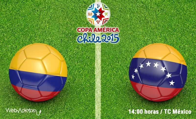 Colombia vs Venezuela, Copa América 2015 - Colombia-vs-Venezuela-en-vivo-Copa-America-2015