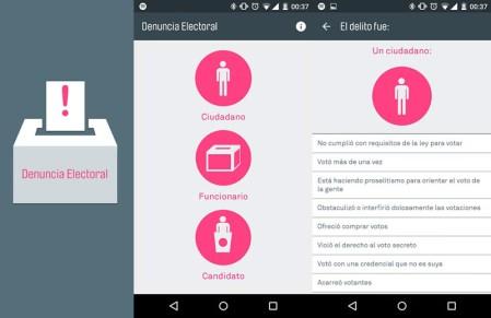 Denuncia electoral, la app para informar delitos electorales estas elecciones