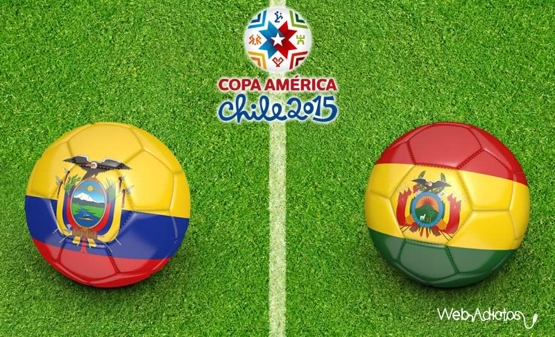 Ecuador vs Bolivia en la Copa América - Ecuador-vs-Bolivia-en-vivo-Copa-America-2015