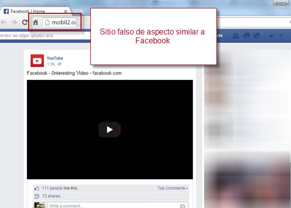 Propagan video para adultos en Facebook que instala extensión en Chrome ¡Cuidado! - Redireccion-Facebook