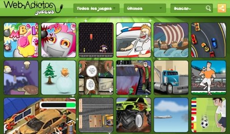 WebAdictos.juegos, no es Juegos Friv, pero ¡te vas a divertir!