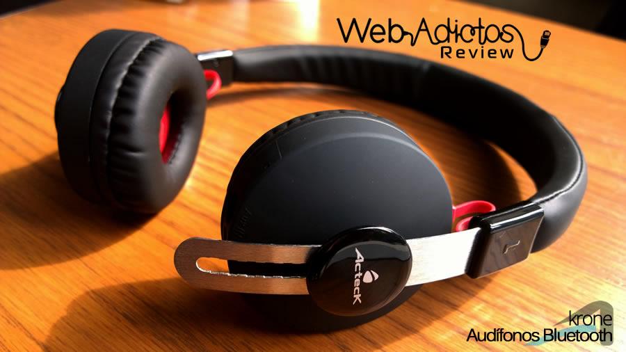 acteck audifonos krone 11 Audífonos Bluetooth Krone, inalámbricos y multifuncionales
