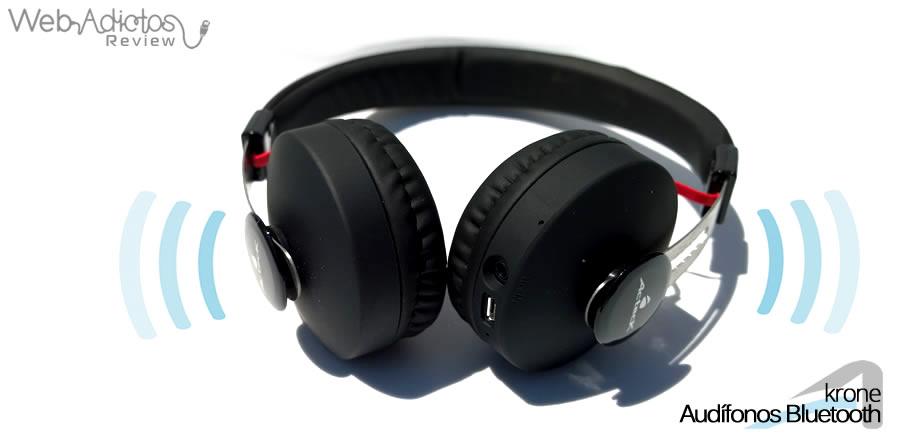 acteck audifonos krone 13 Audífonos Bluetooth Krone, inalámbricos y multifuncionales