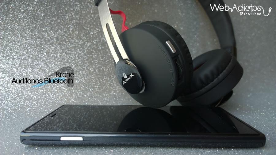 acteck audifonos krone 16 Audífonos Bluetooth Krone, inalámbricos y multifuncionales