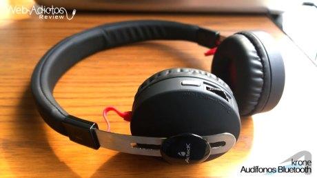 Audífonos Bluetooth Krone, inalámbricos y multifuncionales - acteck-audifonos-krone-3
