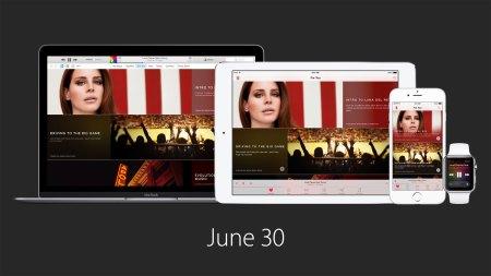 Apple Music llegará el 30 de junio y también estará presente en Android y Windows