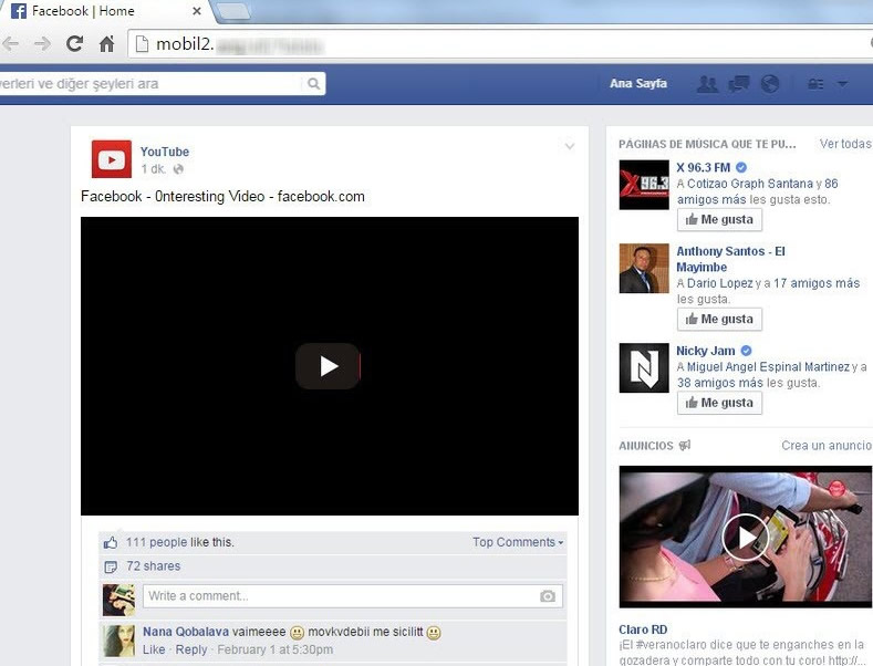 Propagan video para adultos en Facebook que instala extensión en Chrome ¡Cuidado! - video-para-adultos-facebook-muro
