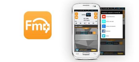 App FM Plus, mejora la forma de escuchar radio en el móvil