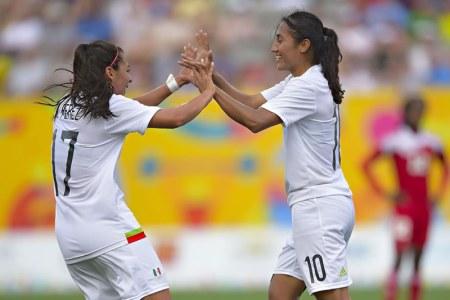 México vs Canadá Femenil en Panamericanos 2015