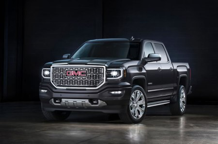 GMC presenta la nueva camioneta Sierra 2016