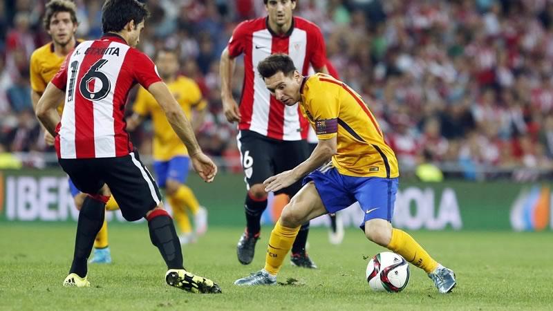 Barcelona vs Athletic, Final Supercopa de España 2015 - Barcelona-vs-Athletic-Supercopa-de-Espana-2015-vuelta