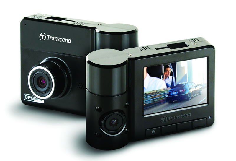Transcend presenta su cámara para autos DrivePro 520 con lente dual - Camara-para-autos-DrivePro-520