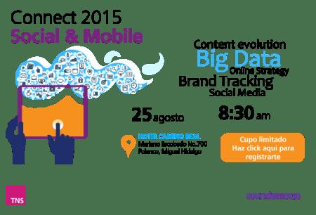 Connect 2015, tendencias en Social Media y Móvil