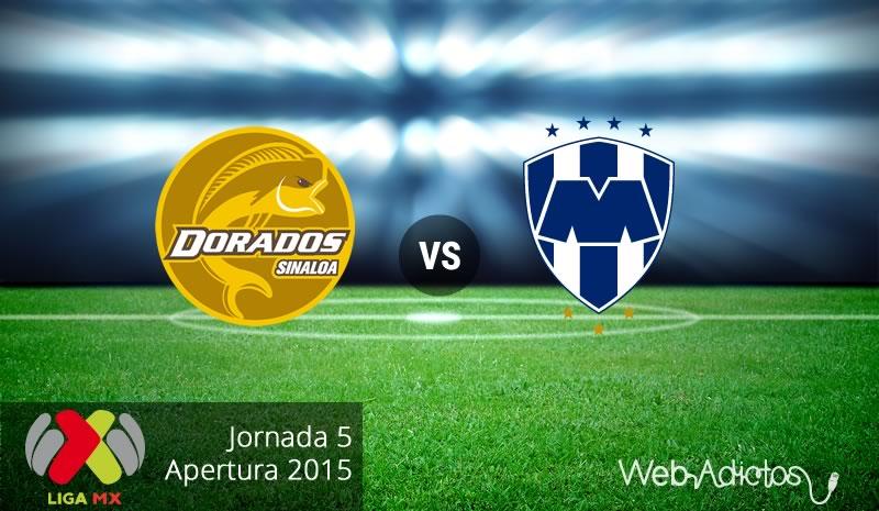 Dorados vs Monterrey en la Jornada 5 del Apertura 2015 - Dorados-vs-Monterrey-Apertura-2015-Jornada-5