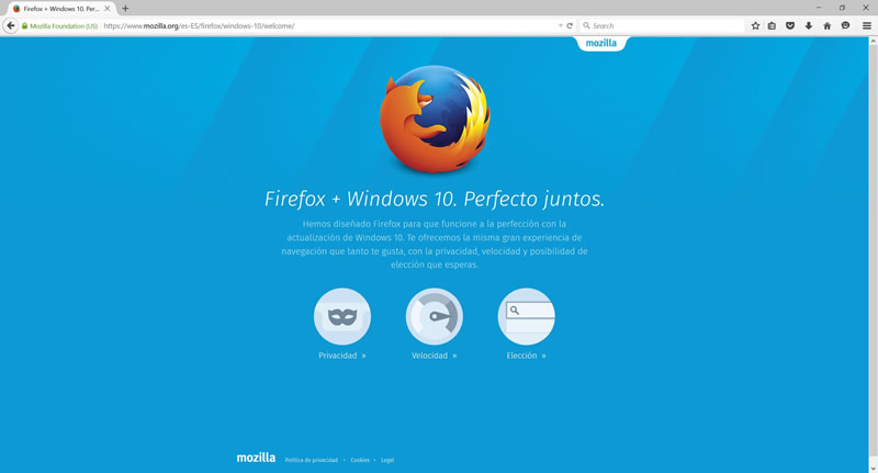 Firefox lanza nueva versión para Windows 10 con renovada imagen - Firefox-para-Windows-10