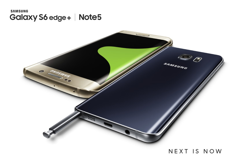 Samsung presenta el Galaxy Note 5 y Galaxy S6 Edge+ - Galaxy-S6-edge-_Note5_Gold_Black_2P-800x565