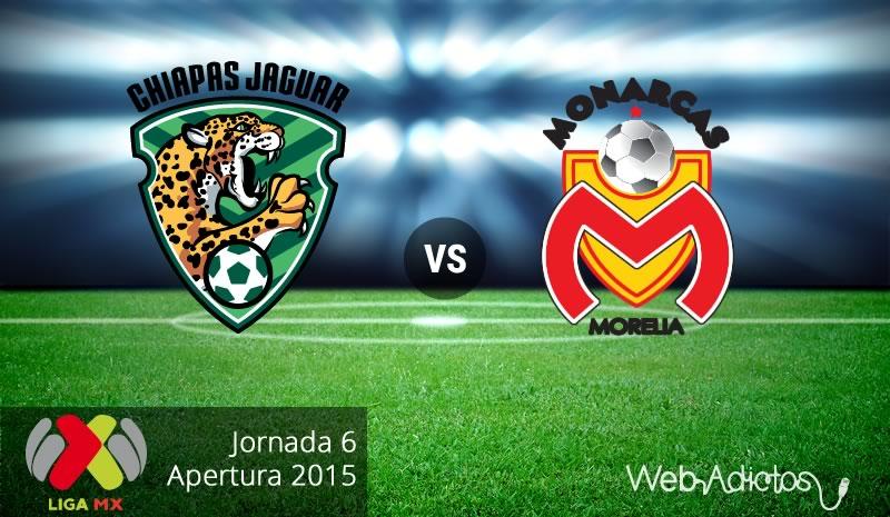Jaguares vs Morelia, Jornada 6 del Apertura 2015 - Jaguares-vs-Morelia-Apertura-2015