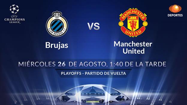 Manchester United vs Brujas, Champions League | Ronda previa - Manchester-United-vs-Brujas-en-vivo-Champions-League