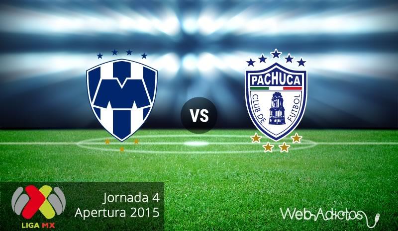 Monterrey vs Pachuca, Apertura 2015 Jornada 4 - Monterrey-vs-Pachuca-Apertura-2015