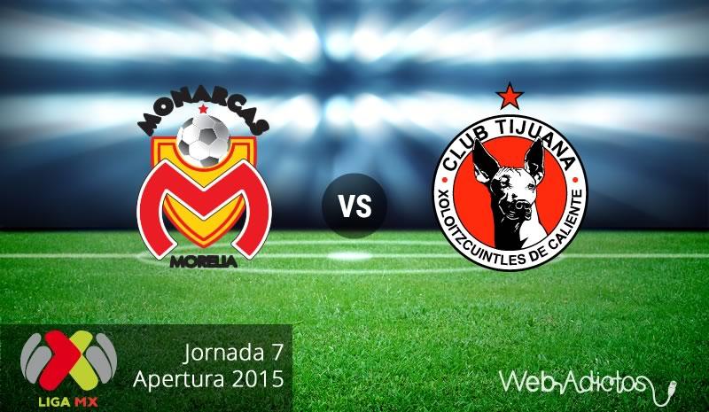 Morelia vs Tijuana, Jornada 7 del Apertura 2015 - Morelia-vs-Tijuana-Apertura-2015