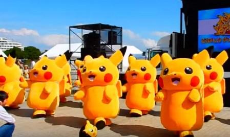 Grupo de Pikachus protagonizan video viral en YouTube