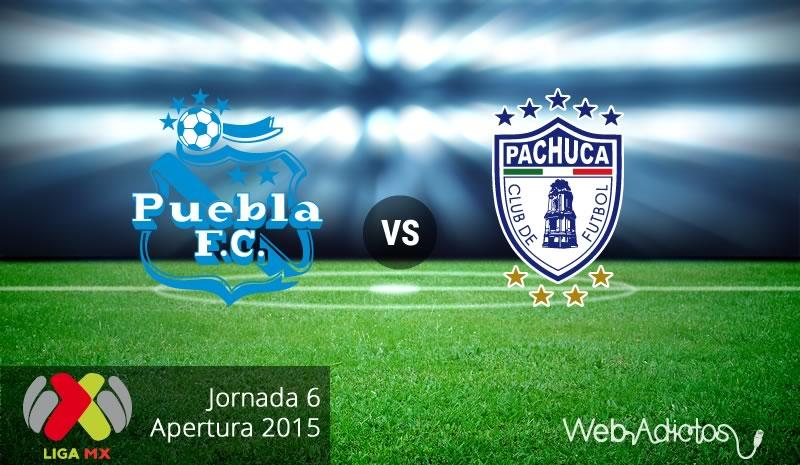 Puebla vs Pachuca, Fecha 6 del Apertura 2015 - Puebla-vs-Pachuca-Apertura-2015