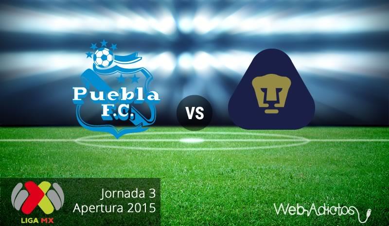 Puebla vs Pumas en el Apertura 2015 - Jornada 3 - Puebla-vs-Pumas-Apertura-2015