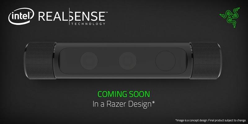 Razer usará la cámara Intel Real Sense para llevar realidad virtual a los gamers - Razer-Real-Sense
