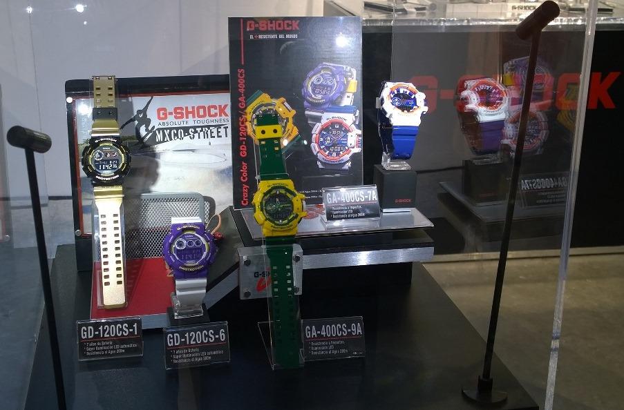 G-SHOCK presenta extrema colección junto con Nigel Sylvester - coleccion-crazy-color-g-shock