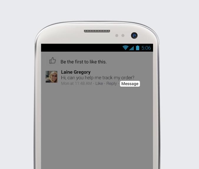 Facebook, introduce nuevos cambios ¡Conócelos! - facebook-los-comentarios-privado-con-un-mensaje