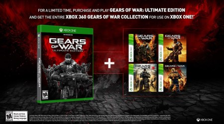 Gears of War: Ultimate Edition incluirá todos los Gear of War existentes