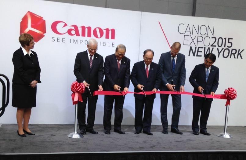 Canon expo 2015, presenta el futuro de la tecnología de imagen en Nueva York - CANON-EXPO-2015-NY