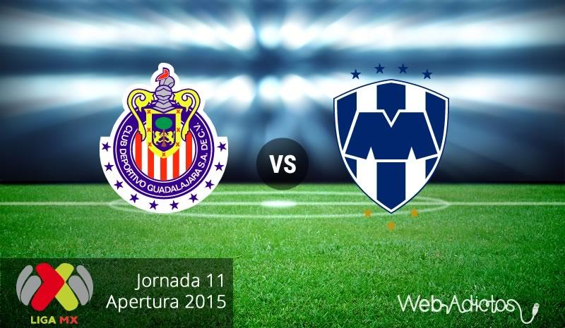 Chivas vs Monterrey, Fecha 11 del Apertura 2015 - Chivas-vs-Monterrey-Apertura-2015