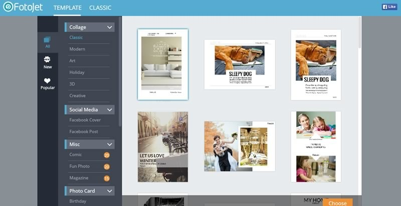 Fotojet, un sitio para crear collages, postales fotográficas y más ¡Gratis! - Crear-collages-portadas-facebook-Fotojet-800x412
