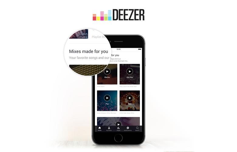 Deezer rediseña su pantalla de inicio en dispositivos móviles y web - Deezer-pantalla-de-inicio
