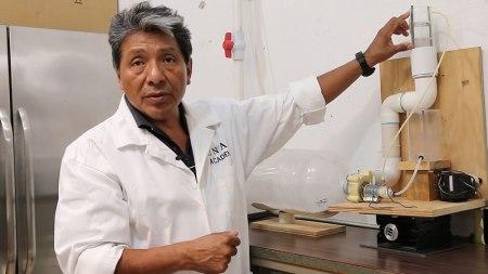 Diseñan en la UNAM un prototipo que elimina la contaminación del aire