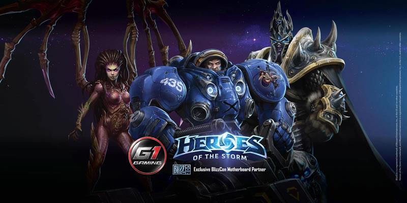 Gigabyte quiere impulsar el PC Gaming con sus motherboard Serie 100 - Gigabyte-Heroes-of-the-storm