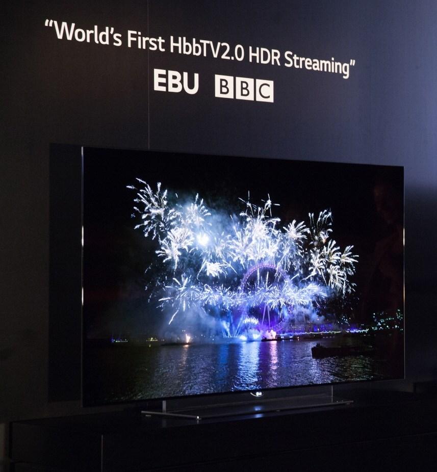 LG lanza streaming High Dynamic Range (HDR) en los televisores LG OLED 4K - HDR-LG