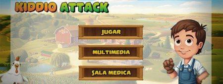 Kiddio Attack, el videojuego creado para tratar niños con cancer