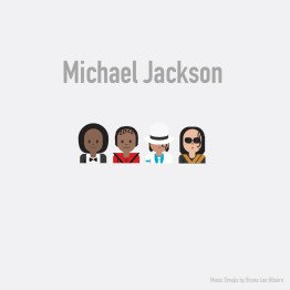 Estrellas de la industria musical se vuelven emojis - Michael-Jackson-emoji