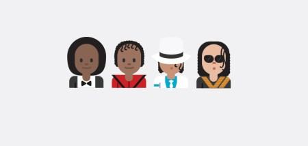Estrellas de la industria musical se vuelven emojis