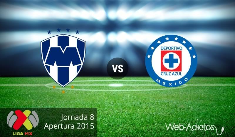 Monterrey vs Cruz Azul en el Apertura 2015 | Jornada 8 - Monterrey-vs-Cruz-Azul-Apertura-2015