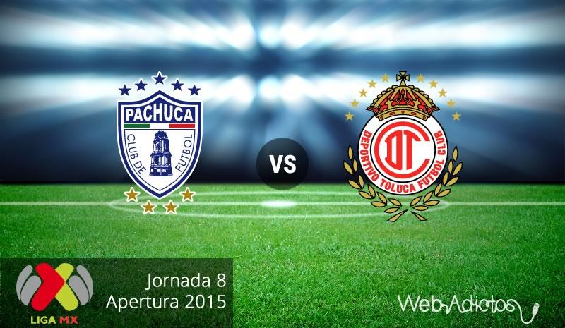 Pachuca vs Toluca, Fecha 8 del Apertura 2015 - Pachuca-vs-Toluca-Apertura-2015
