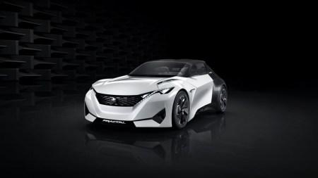 Peugeot Fractal, el auto concepto eléctrico y con impresión 3D de Peugeot