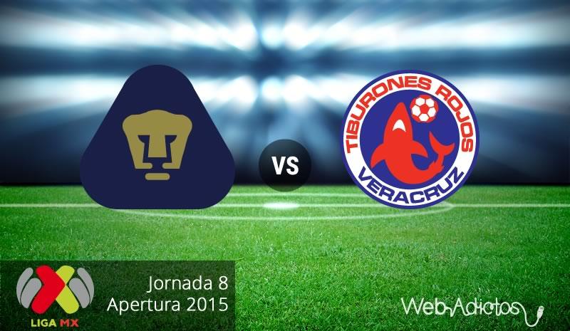 Pumas vs Veracruz, Jornada 8 del Apertura 2015 - Pumas-vs-Veracruz-Apertura-2015